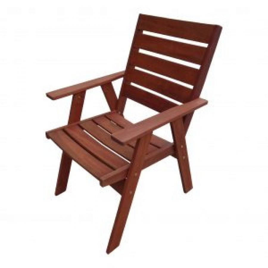 Pacific Merbau (Kwila) Timber Chair