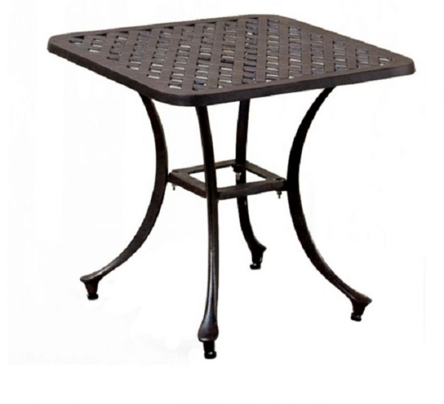 50cm Square Caste Side Table
