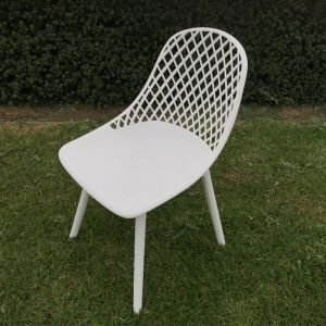 Cosmos Dining Chair – White