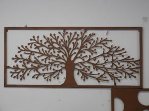 Rust tree of Life  wallart